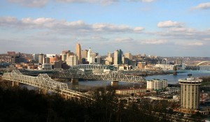 skyline of Cincinnati, Ohio